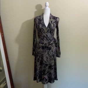 Diane Von Furstenberg 'Boka' 100% Silk Wrap Dress